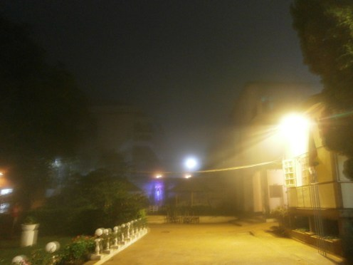 One very foggy evening at S.A.G. Institute (4)