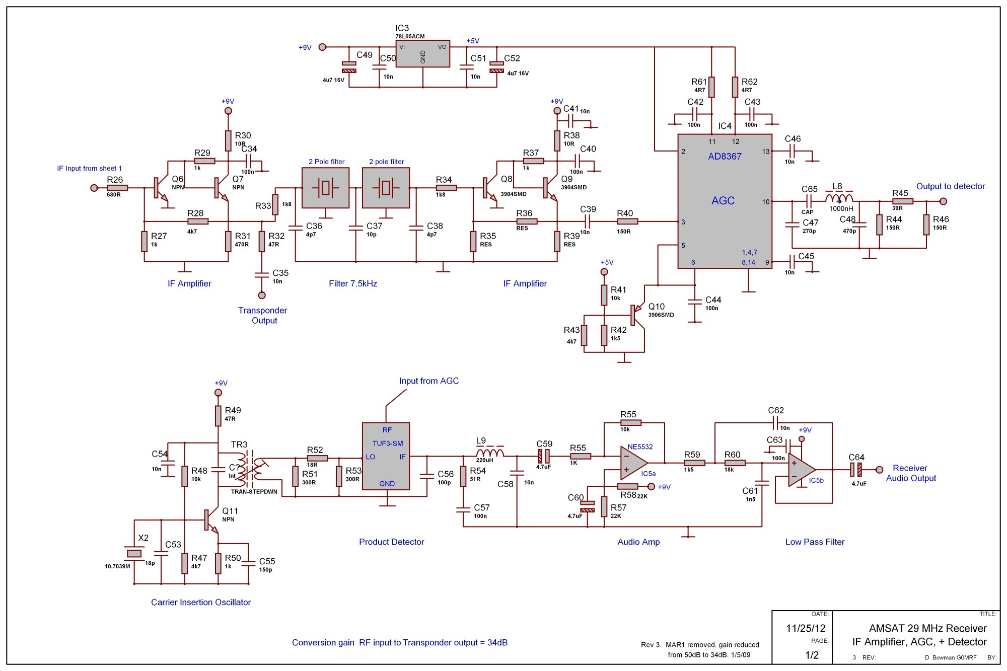 hight resolution of g0mrf 29 45 mhz receiver project