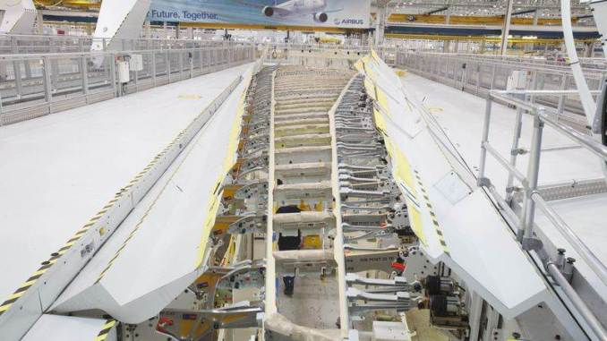 A350-1000 Wing Production