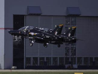 BAe Hawks from RAF Valley (Credit N Harding)