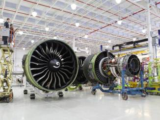 GE90 Engine in overhaul - GE Media