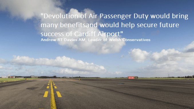 Andrew RT Davies APD Qoute (Images courtesy of Wales Air Forum)