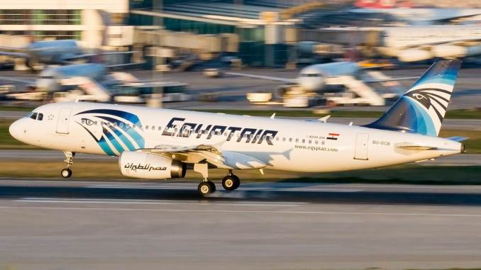 An Egypt Air A320 (Image: Bulent KAVAKKORU/Wikimedia Commons)
