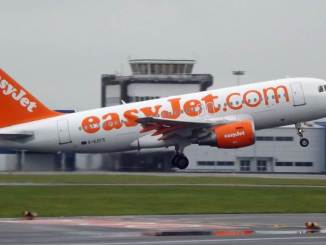 Easyjet Airbus at Cardiff Airport (Image: Aviation Wales)