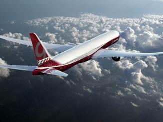 Boeing 777X (Image: Boeing Media)
