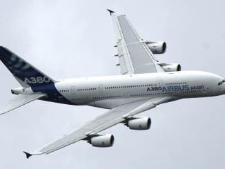 Airbus A380 at Farnborough Air Show (Image: Aviation Wales)Airbus A380 at Farnborough Air Show (Image: Aviation Wales)