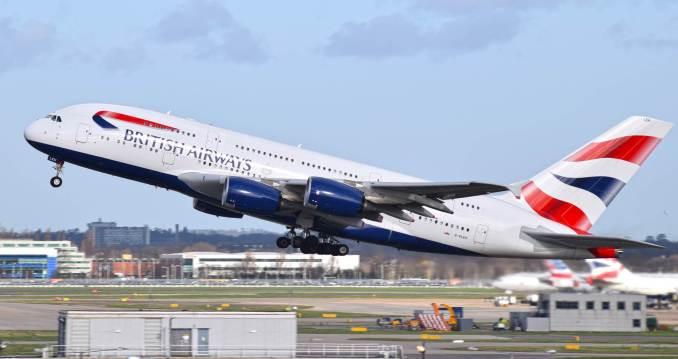 British Airways A380 at London Heathrow (Image: Aviation Media Agency)