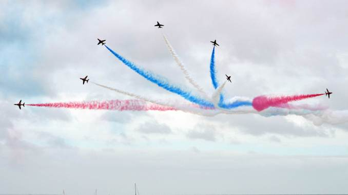 The Red Arrows (Image: The Aviation Media Co.)