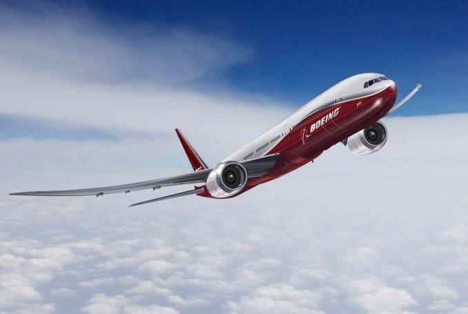 GE9X powered Boeing 777X (Image: Boeing)