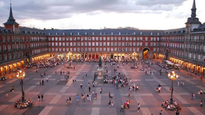 Plaza Mayor de Madrid (Image: Sebastian Dubiel)