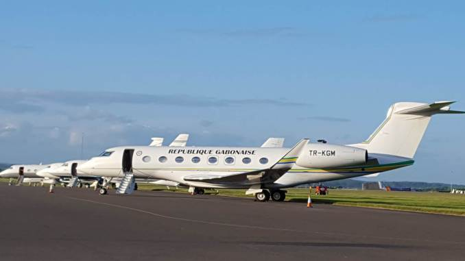 Business Jets at Cardiff Airport (Image: Joe Mills)