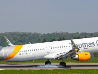 Thomas Cook Airbus A321 at Bristol Airport (Image: The Aviation Media Agency)