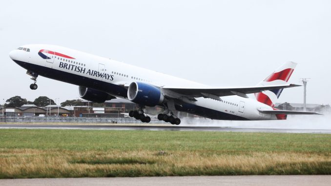 British Airways Boeing 777