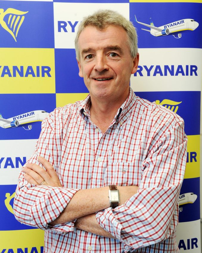 Michael O'Leary Ryanair CEO