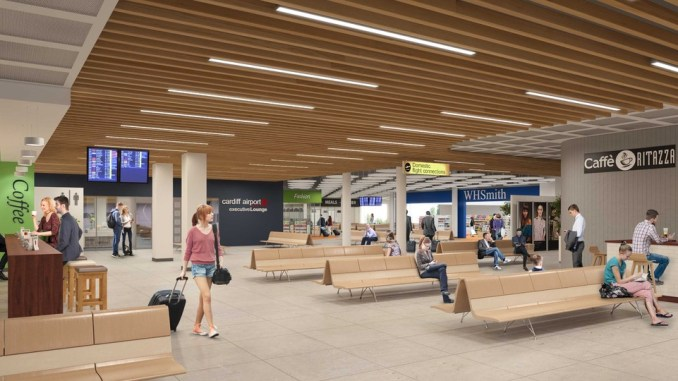 Cardiff Airport hopes terminal upgrade will change perceptions