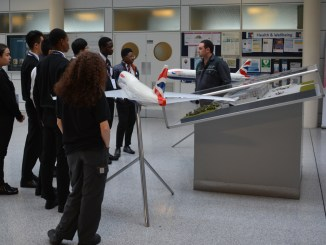 Cardiff Sixth Form College are introduced to BAMC