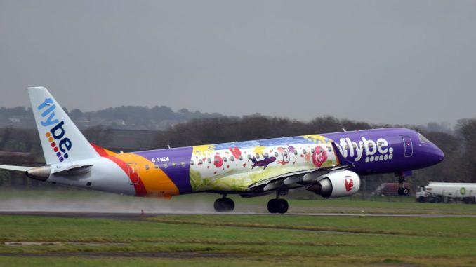 Flybe's winter schedule underway at Cardiff Airport