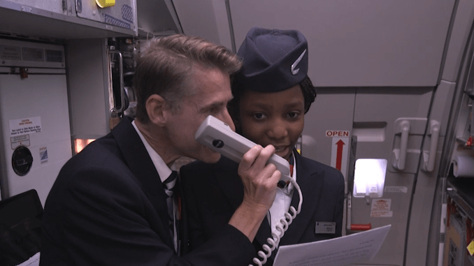 British Airways helps young girls dream come true