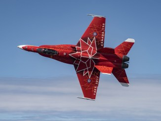 A CanadianCF-18 is the first aircraftto confirm for the 2018 Yeovilton Air Day.