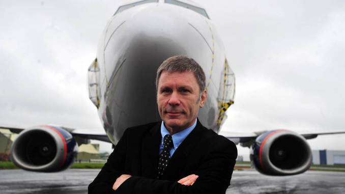 Bruce Dickinson set up Cardiff Aviation in 2012 with the help of the Welsh Government