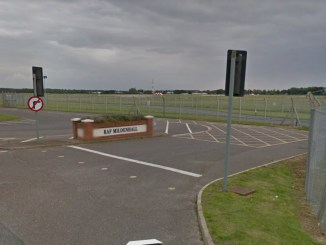 Shots fired at Suffolk air base