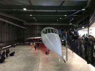 Concorde Alpha Foxtrot at Aerospace Bristol
