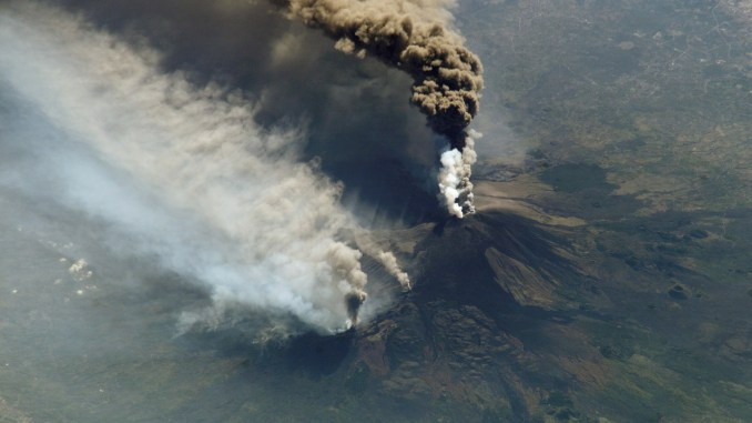 European volcano mount Etna erupts spewing ash across Italian airspace