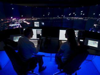 London City Airport digital tower at Swanwick