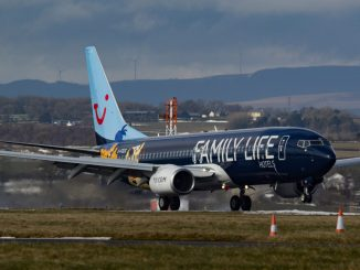 TUI Boeing 737-800
