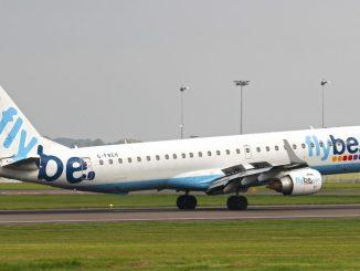 Flybe Embraer E195 Regional Jet G-FBEH