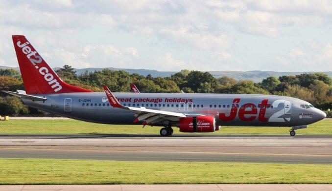 Jet2 Boeing 737-800 G-JZHH