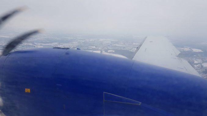 Approaching Hawarden