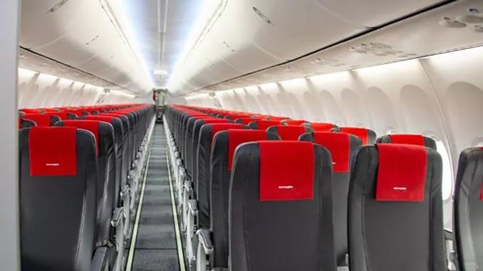 Norwegian 737 Max Seats (Image: Norwegian)