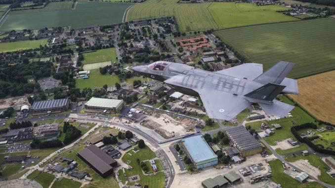 F-35B over RAF Marham (Image: Defence Imagery/OGL)