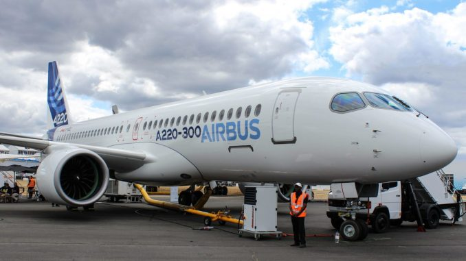 Airbus A220-300 (Image: The Aviation Media Co.)