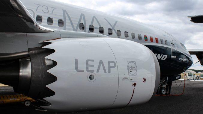 LEAP engines on a Boeing 737 Max (Image: Nick Harding/TransportMedia UK)