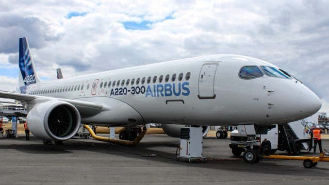 Airbus A220 (Image: Aviation Media Agency)