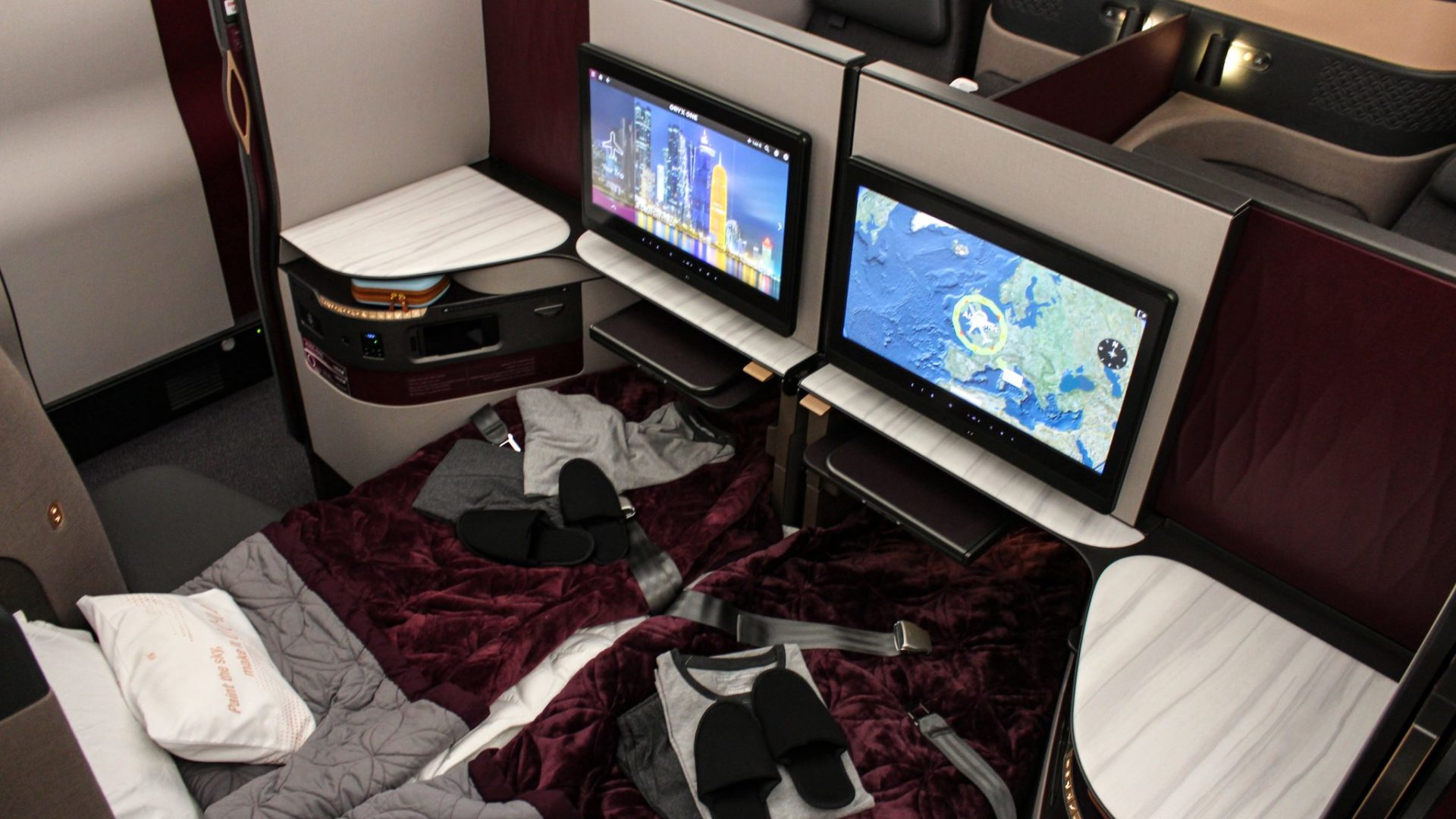 Qatar Airways Q-Suite (Image: TAMC)