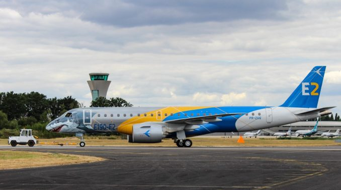 Embraer E190-E2 Profit Hunter (Image: TAMC)