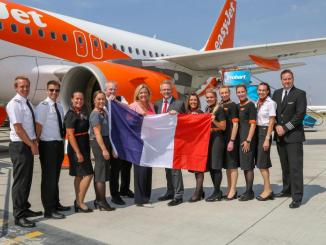 Easyjet new routes to France