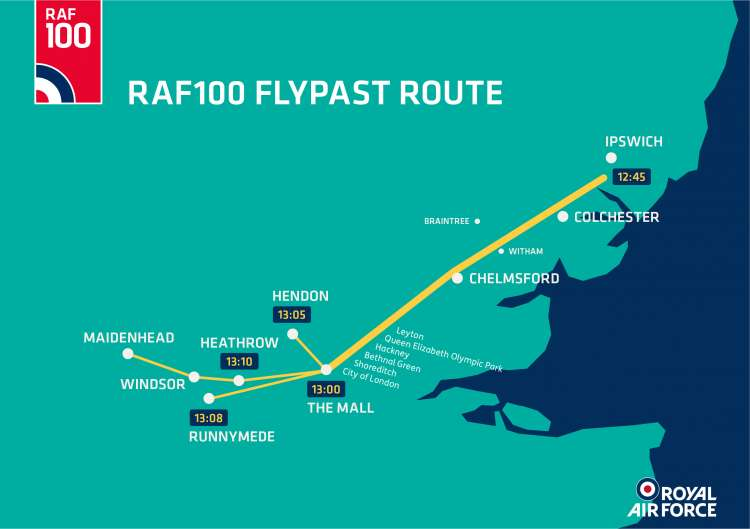 raf100-route