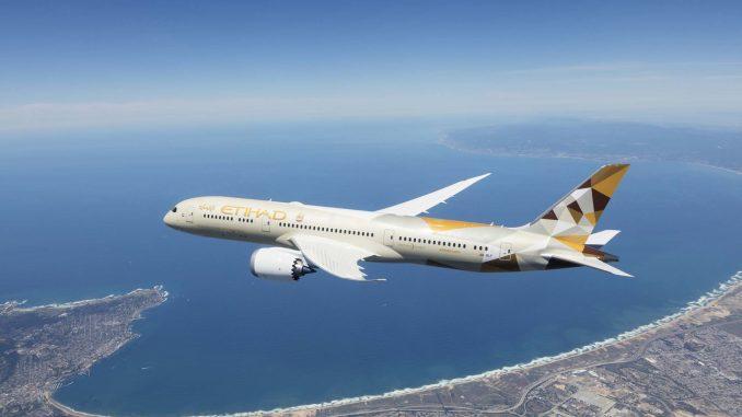 Etihad Airways Boeing 787-9 Dreamliner (Image: Etihad)