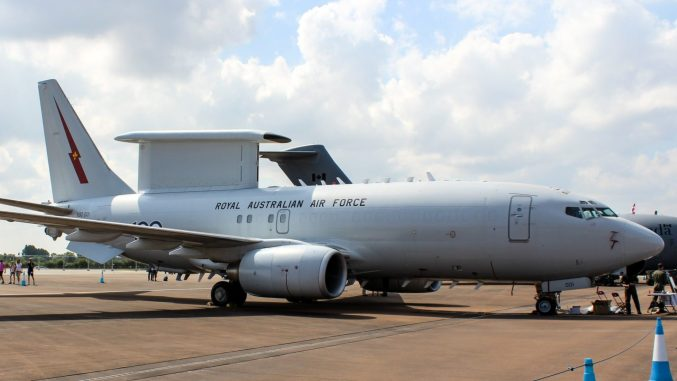 A Boeing E7 Wedgetail in use with the RAAF (Image: TransportMedia UK)