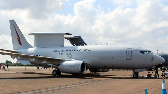 A Boeing E7 Wedgetail in use with the RAAF (Image: Aviation Media Agency)