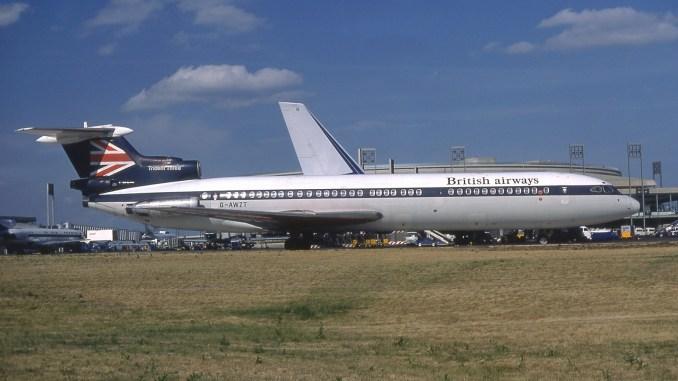 Hawker Siddeley Trident 3B (Image: Michel Gilliand/GFDL/Wikimedia)