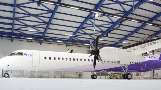 New Flybe Livery