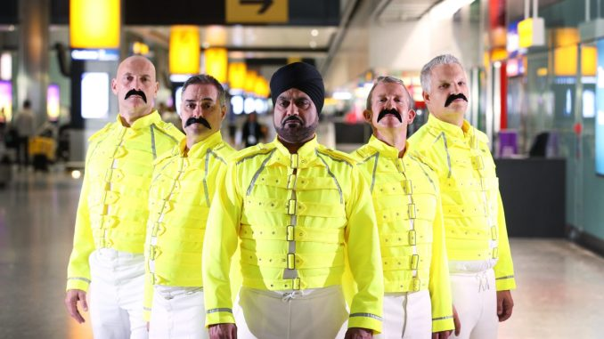 BRITISH AIRWAYS AND HEATHROW BAGGAGE HANDLERS 'ESCAPE FROM REALITY' IN CELEBRATION OF QUEEN LEGEND FREDDIE MERCURY'S BIRTHDAY