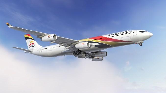 Air Belgium A340-313 (image: AB)