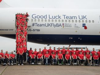 British Airways gave the UK's Invictus Games Sydney 2018 squad, a heroes' send off at Heathrow