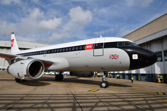 BEA Airbus A319 G-EUPJ (Image: Jamie Woodhouse-Wright/Aviation Media Co.)